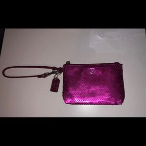 Coach purse/wristlet, never been used!